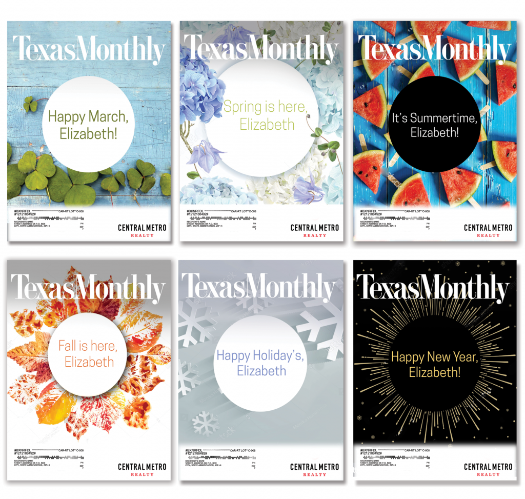 6 Texas Monthly Covers