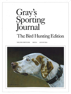 Cover Greys Sporting Journal