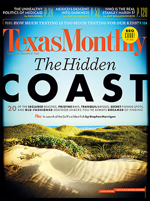 Cover Texas Monthly