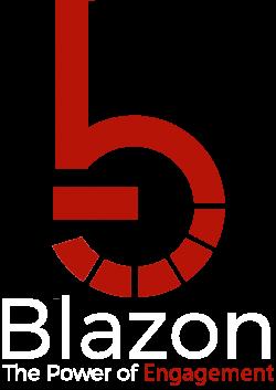 Blazon Connect Cover Wrap Coverwrap Logo Solid White